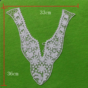 High Quality Eyelet Cotton Neckline (cn71) pictures & photos