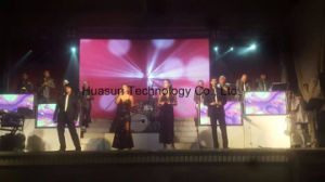 Huasun Galaxias Curved Flexible LED Screen P4 HD Video Display pictures & photos