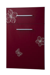 Modern Glossy Acrylic Kitchen Cabinet Door Shutter for Sale (zhuv) pictures & photos