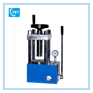 40t Manual Powder Hydraulic Press for Laboratory Cy-PC-40 pictures & photos