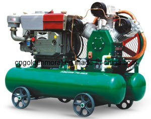 Diesel Piston Air Compressor/OEM /in Factory Price pictures & photos
