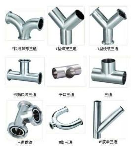 Pipe Fitting Lateral Tee 8inch 45 Degree Pipe Fittings 304 316L 201 202 404 pictures & photos