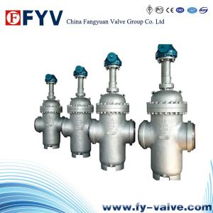 API 6D Manual Operated Slab Gate Valve 600lbs pictures & photos