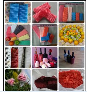 FDA Approved PE Foam Mesh Fruit Protection Net for Papaya Export Packaging pictures & photos
