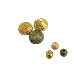 Best Selling Little Round Metal Button for Garment pictures & photos