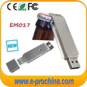 Stainless Steel Bottle Opener USB Stick Multifunctional USB Pen Drive pictures & photos