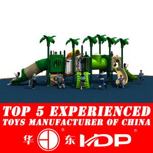 2014 New Style Outdoor Plastic Slide for Children′s Playground (HD14-069A) pictures & photos