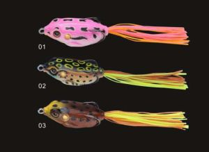 Soft Frog with Tail Frog Lure Soft Lure pictures & photos