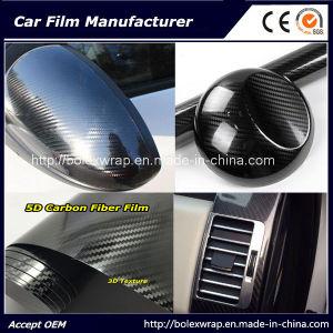 Car Wrap Film 5dcarbon Fiber Vinyl Film for Carbon Fibre Vinyl Wrap pictures & photos