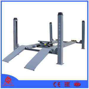 Front Open Four Post Alignment Lift Gc-4.5foa