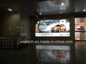 Airport Large Exhibition Wall Mounted Backlit Banner Film LED Advertising Display Light Box pictures & photos