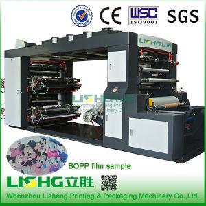 4 Colour High Speed Stack White Film Flexo Printing Machine pictures & photos
