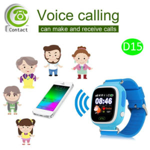 Hot Selling 1.22inch Touch Screen GPS Kids Tracker Watch (D15) pictures & photos