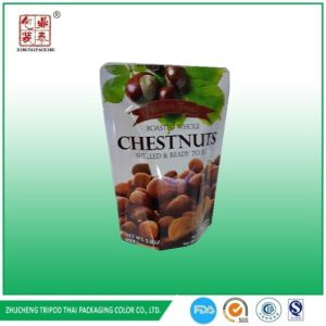 Stand up /Doypack Aluminum Retort Pouch for Chestnut