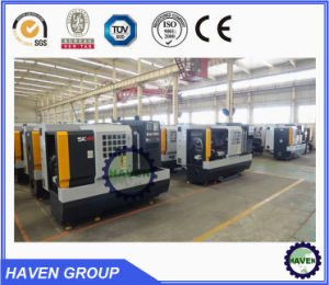 Fanuc system CNC lathe Machine with high speed pictures & photos