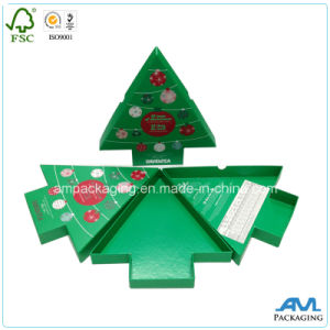 Handmade Tree Shape Rigid Set up Gift Paper Box pictures & photos