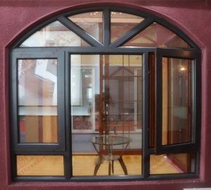 High-Class Aluminum Casement Arch Widnow (BHA-CWA14) pictures & photos