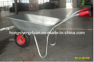 Wb5204 High Quality 65L Galvanized Wheel Barrow pictures & photos