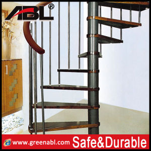Stainless Steel Spiral Staircase Design (DD123) pictures & photos
