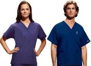 Fashion Design Cotton Unisex Scrubs Uniforms, Wholesale Medical Uniforms, Hospital Staff Uniform--LCM11 pictures & photos