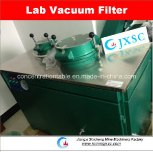 Laboratory Vacuum Disk Filter for Dewatering pictures & photos