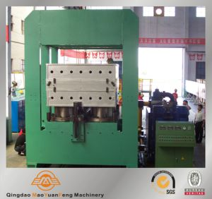 Automatic Rubber Frame or Column Type Plate Vulcanizer with BV, Ce, SGS Certification pictures & photos