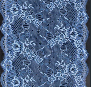 Two Tones Stretch Lace (with oeko-tex certification) pictures & photos