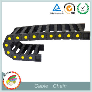 CNC Plastic Cable Carrier Chain pictures & photos