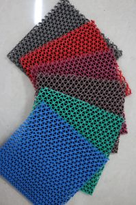 PVC S-Shaped Floor Skidproof Mats (3G-707A) pictures & photos