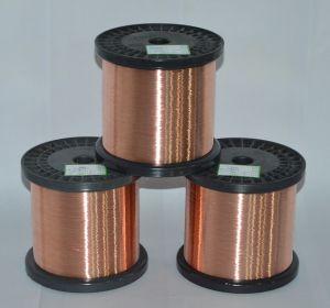 Copper Clad Alu CCA Alloy Conductor Ccaa Wire Dia 0.10mm