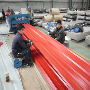 0.3mm Thickness Color Steel Roof Sheet Size pictures & photos