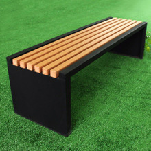 Wood Plastic Composite Chair pictures & photos