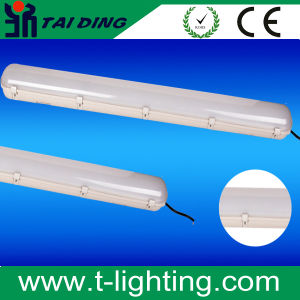 LED Lighting Fixtures 110lm/W IP65 Ik10 Tri-Proof LED Light, Lienar Low Bay. PC +PC with IP65. Waterproof Batten Ml-Tl3-LED pictures & photos