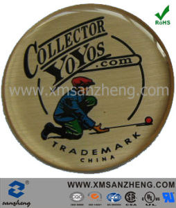 Round Epoxy Resin Dome Label Sticker Printing with 3m Adhesive (SZXY188) pictures & photos