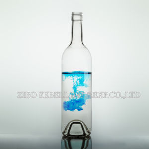 China Glass Flint 750ml Bordeaux Glass Wine Bottle (010-bottle) pictures & photos