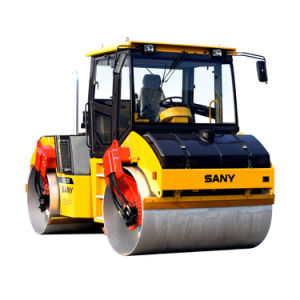 Sany Str100-6 Str Series 10 Ton Small Double Drum Vibratory Tandem Road Roller pictures & photos