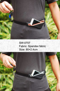 Fashion Running Bag Sport Belt Waist Bag with Good Quality pictures & photos