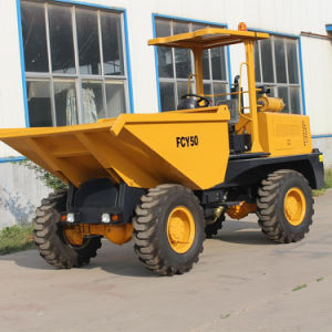 5.0ton Weifang Front Tipper Dumper pictures & photos
