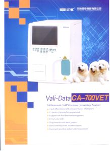 Good Performance 3-Diff Veterinary Hematology Analyzer Ca-700vet