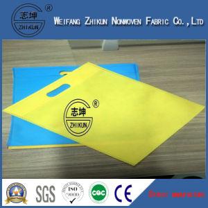 Recycled Dyed Colorful Polypropylenen Spun-Bond Non Woven Fabric for Handbags