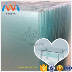 Custom Made Clear Glass Slab Countertops Fabricator pictures & photos