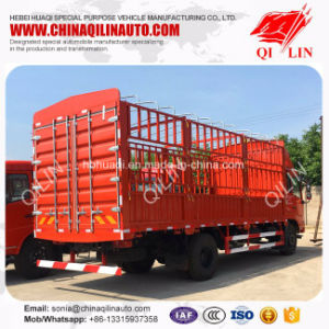 8 Tons Payload Fence Cargo Truck for Food Transport pictures & photos
