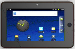 Android Tablet PC with WiFi and Bluetooth