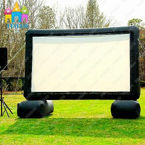 Finego Outdoor Giant Inflatable Cinema Movie Frame TV Screen pictures & photos
