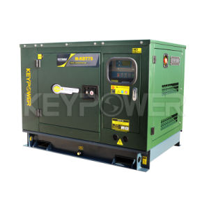 7kVA Silent Diesel Generator (403A-11g1) with Perkins Engine pictures & photos