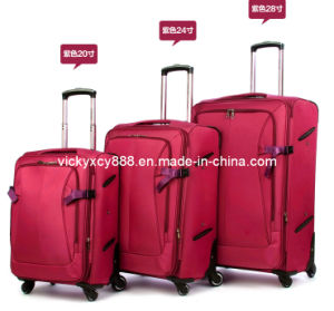 Quality Wheeled Trolley Luggage Travel Bag Case Suitcase (CY5885) pictures & photos