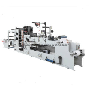 Ybs-570 Six Color Logistics Label Flexo Printing Machinery pictures & photos