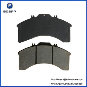 Map Processing Asbestos Brake Pad Wva29011 for Iveco pictures & photos