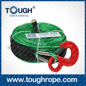 Color Hydraulic Winch Rope Synthetic Winch Rope Australia pictures & photos