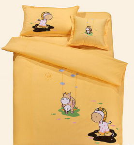 100% Cotton Kids Bedding Set (T81) pictures & photos